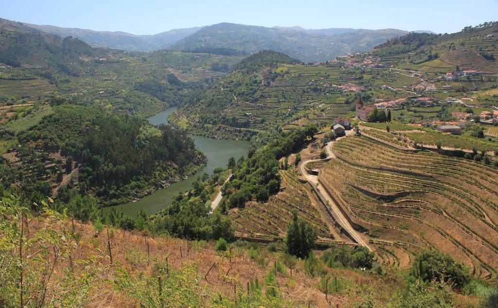 La Vallée du Douro offre de très belles vues lors d'un voyage au Portugal