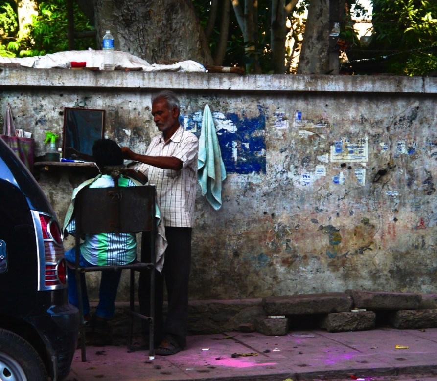Des scènes de vies communes en Inde