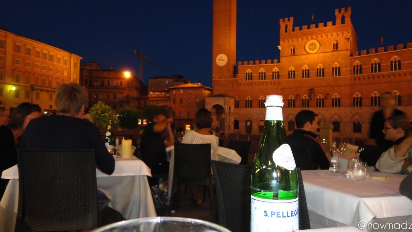 Sienne nuit piazza