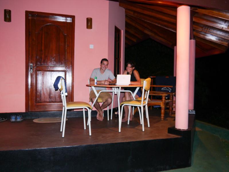 A Tissa, chez Ajith, à Richard Cabanas