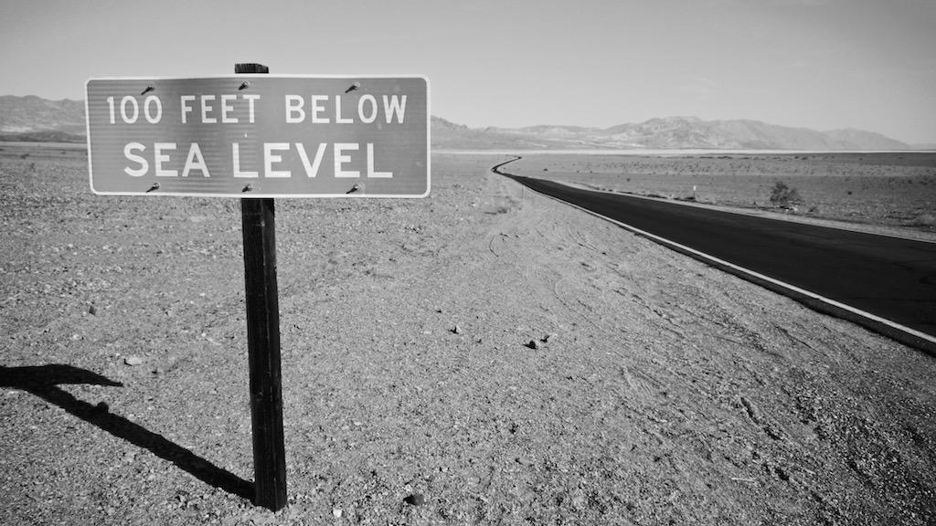 Death Valley louer une voiture aux USA