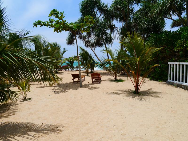 Le paradis existe aussi au Sri Lanka, si, si!