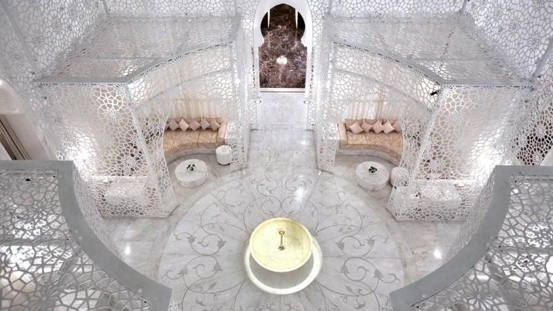 Se détendre dans un Spa féérique (ici, celui du Royal Mansour au Maroc)