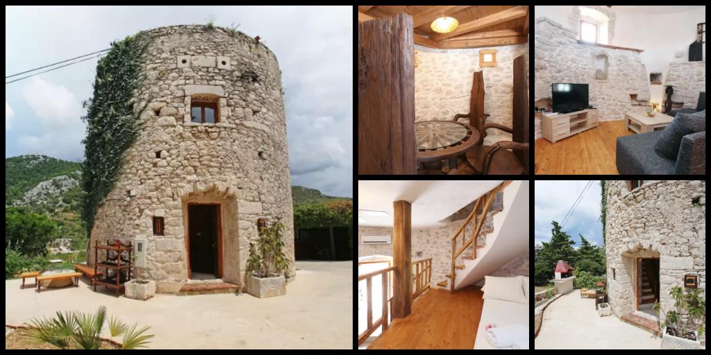 logement insolite airbnb croatie