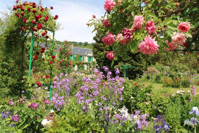 visiter Giverny en Normandie et s'arrêter aux délicieux jardins de claude Monet
