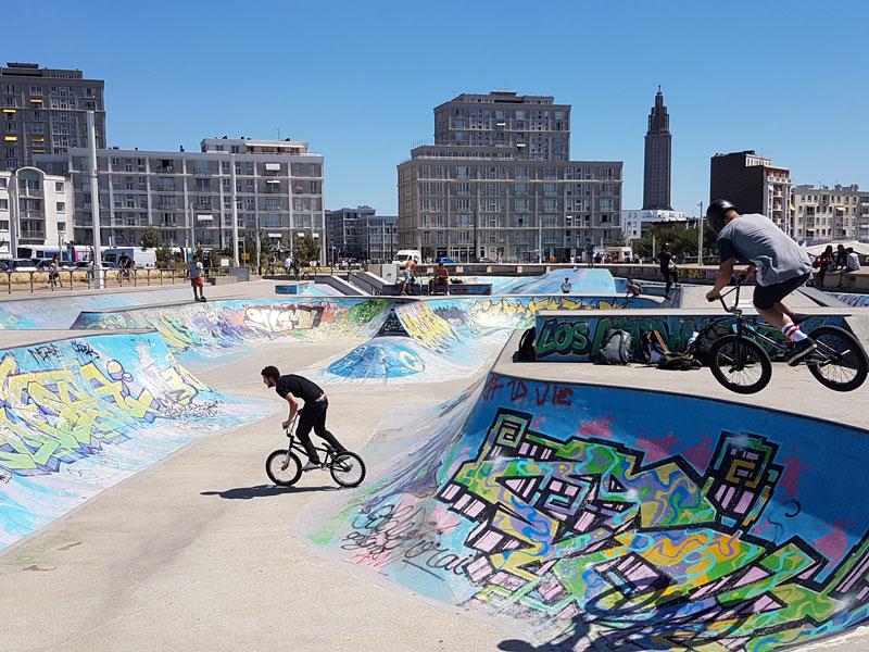 Visiter Le Havre au cours d'un week-end en Normadie