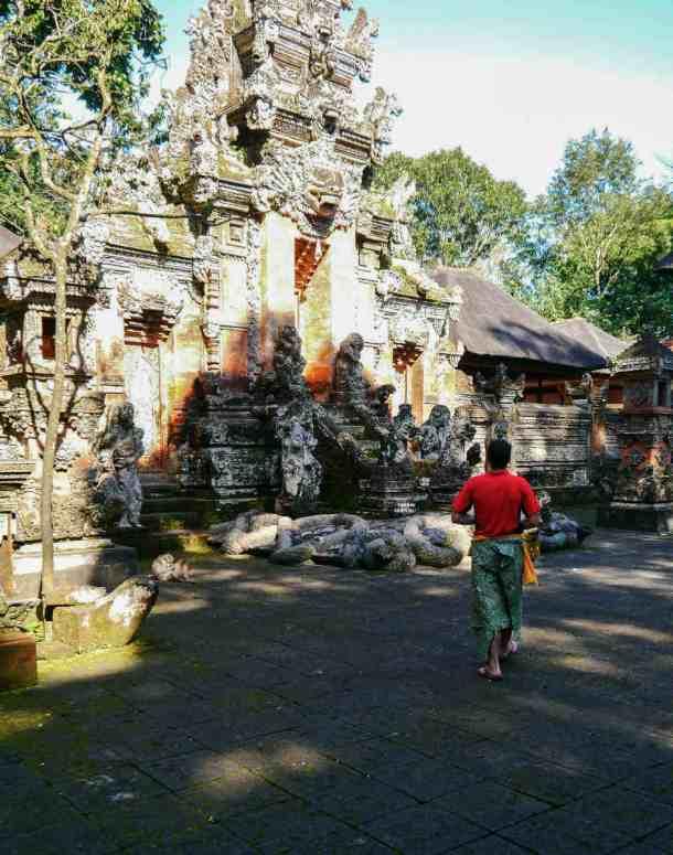 visiter les temples à Ubud