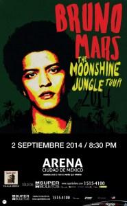 #ULTIMAHORA : ¡ Bruno Mars abre segunda fecha en México !