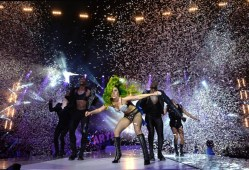#NowNews : Lady Gaga cierra el Jingle Bell Ball de Capital FM en Londres