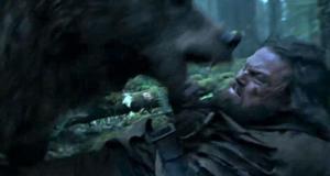 #Cine ¿ Leonardo Di Caprio violado por un oso?