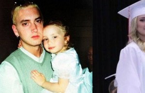 #Retro: ¡ Mira cuánto ha crecido la hija de Eminem !