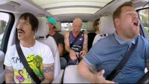 #Curiosidades: Carpool Karaoke con los Red Hot Chili Peppers !Desnudos!