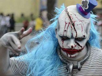 día de muertos –marcha–zombie