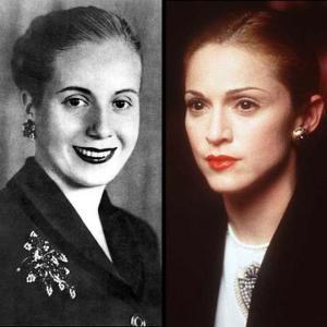 Secretos NMR Madonna y Eva Perón