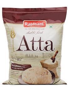 image of Rajdhani Premium Atta Wheat Flour on Now Now Express to send grocery to Nigeria