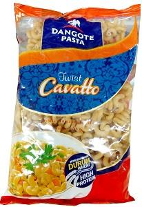 image of Dangote Pasta Twist Cavatto on Now Now Express to send grocery to Nigeria
