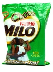 Image of Chocomilo Energy Cubes on Now Now Express for sending food to Nigeria