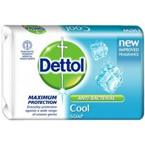 Image of Dettol Anti-Bacterial Soap Cool on NowNowExpress for sending soap From anywhere anytime