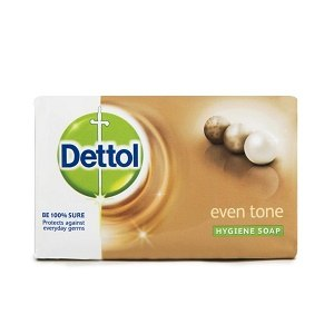 image of Dettol Anti-Bacterial Soap Even Tone on Now Now Express for sending soap to Nigeria