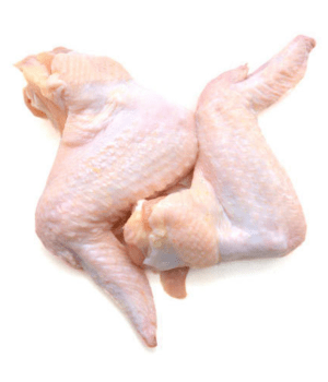 Image of premium quality farm fresh Chicken Wings on Now Now Express for sending meat to Nigeria