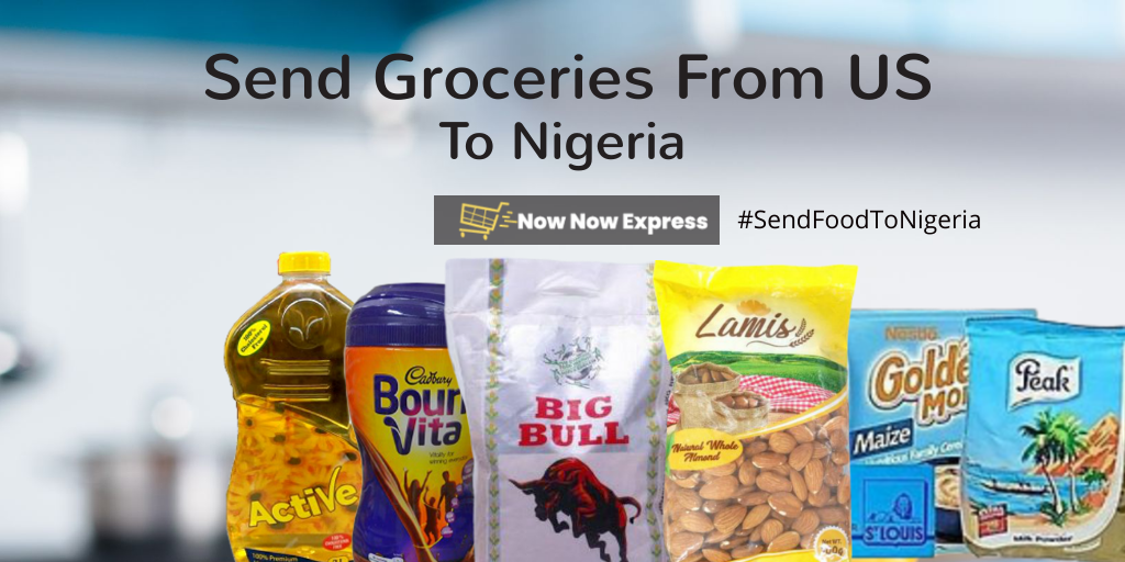 Send Groceries to Nigeria from USA online