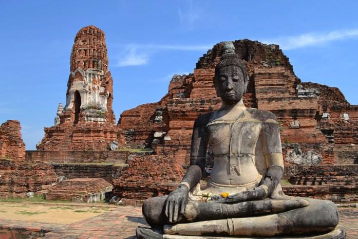 wat maha that buddha noworries temples ayutthaya