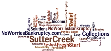 Sutter Creek Bankruptcy Attorney