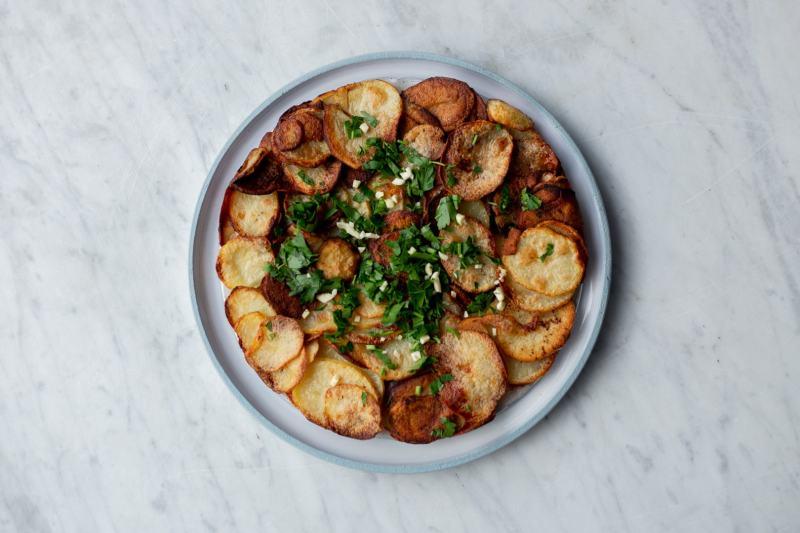 עוגת תפוחי אדמה של מסעדת ל׳אמי לואי פריז