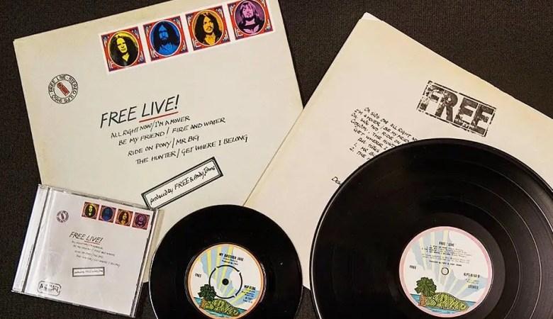 Free Live 1971 Island Records