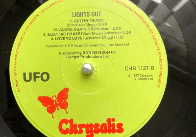 UFO Lights Out Side Two Vinyl