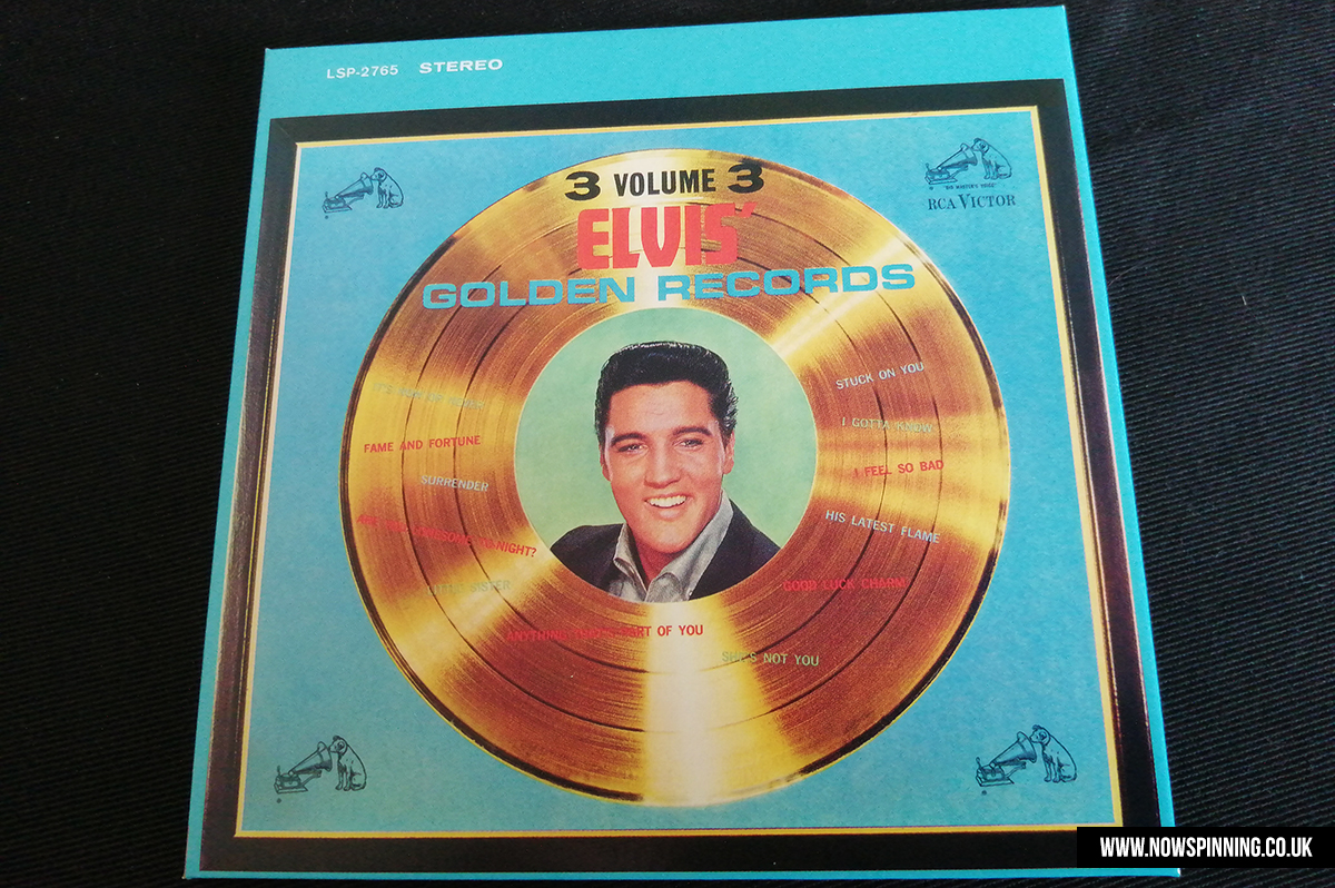 elvis presley golden hits - now spinning