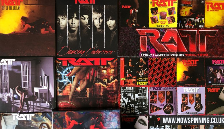 Ratt The Atlantic Years 1984 -1990 Box Set Review