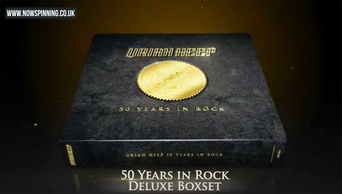 Uriah Heep 50 Years In Rock Boxset Now Spinning Now Spinning