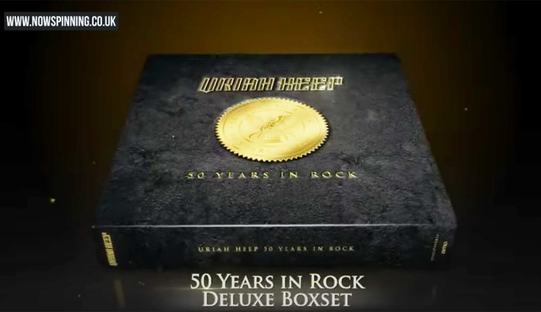 Uriah Heep 50 years in rock box set