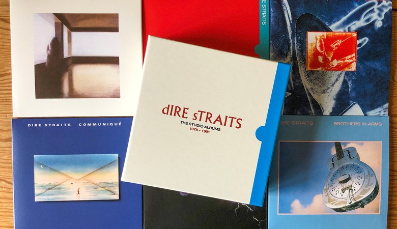 Unboxing The Dire Straits Studio Albums CD Box Set 1978 - 1991