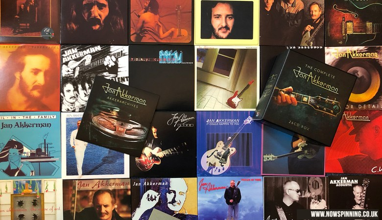 The Complete Jan Akkerman 26CD Unboxing Review