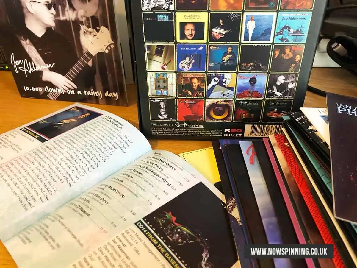 Unboxing Jan Akkerman Complete Albums Box Set