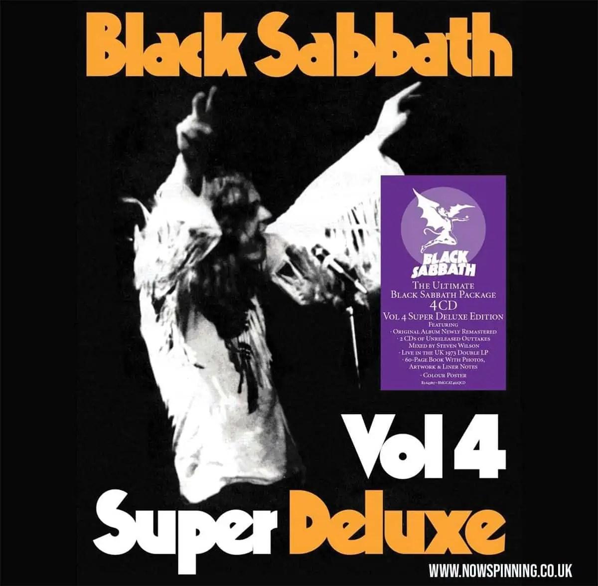 Vol 4 Black Sabbath Super Deluxe Edition