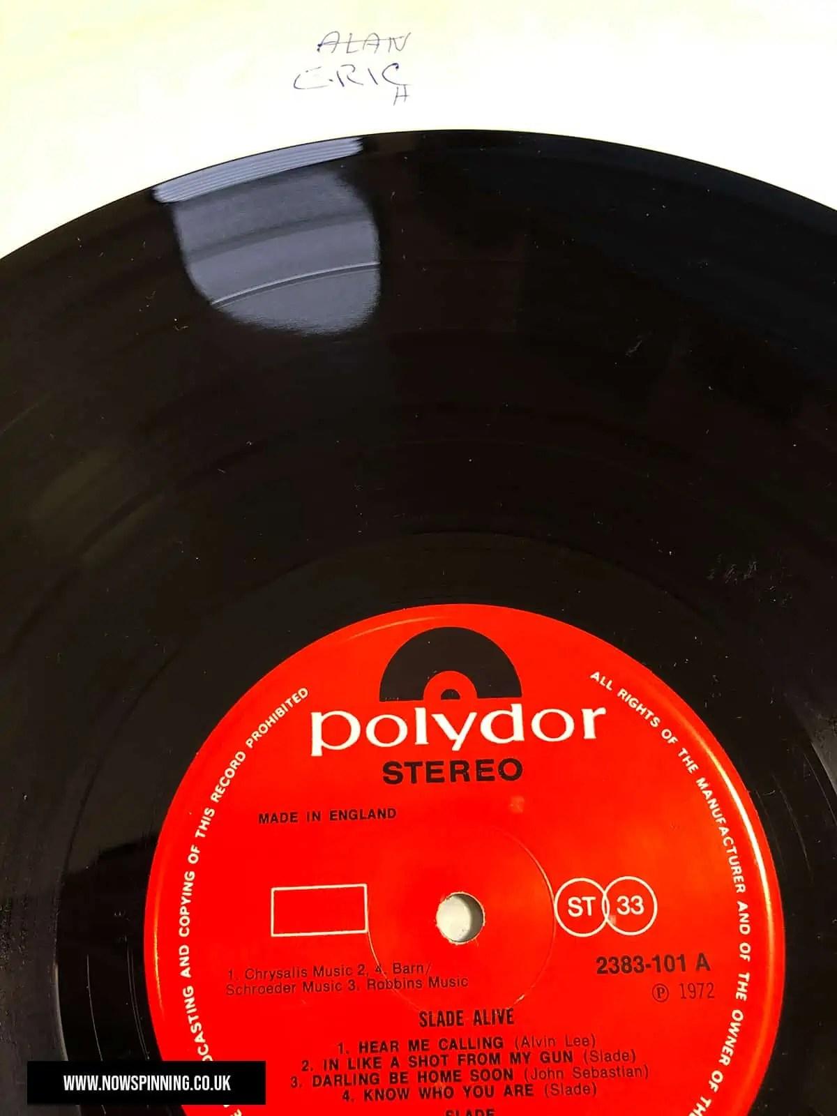 Slade Alive 1972 Vinyl