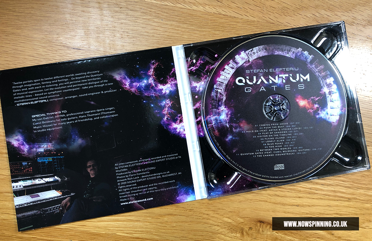 Stefan Elefteriu : Quantum Gates Album Review
