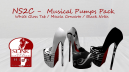 Musical pumps pack 3