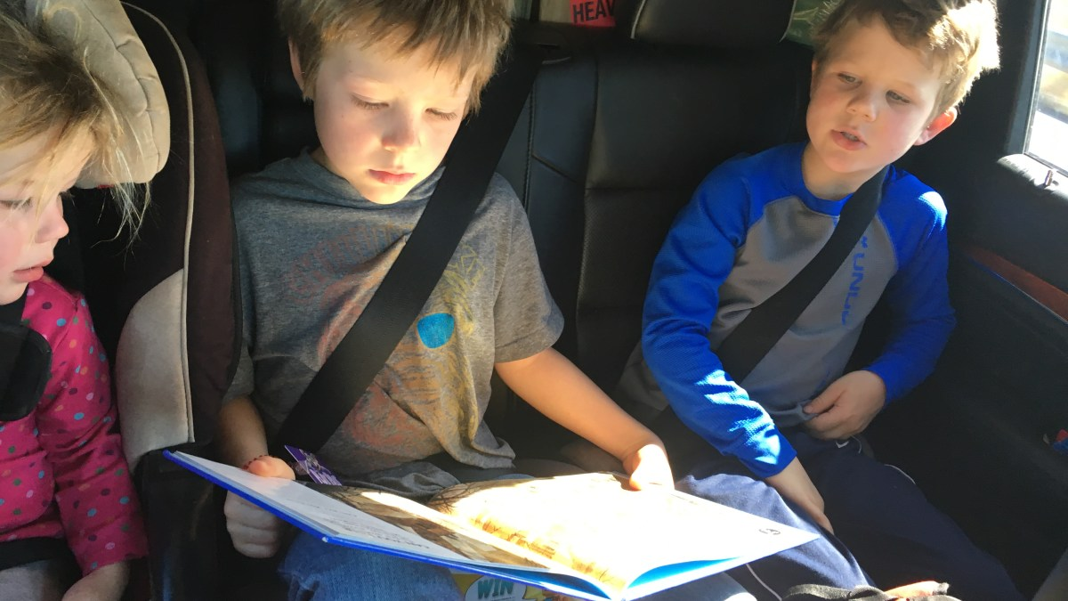 Keeping the car decent on a long drive (without leaving your kids behind)