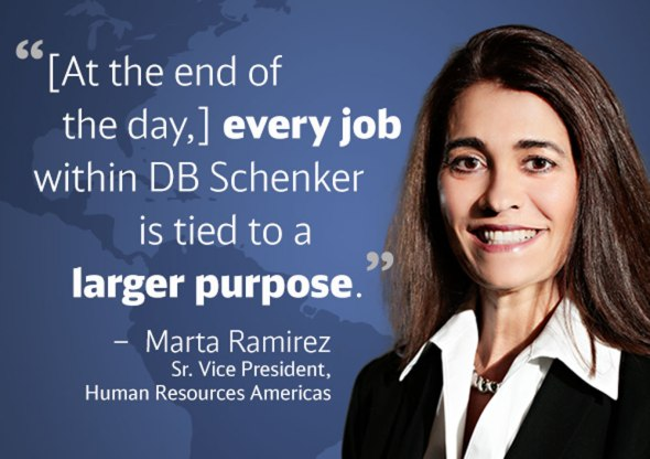 Every job is tied to a larger purpose