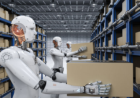 Robot Warehouse Workers: Four Ways Technology is Creating Connected Supply Chains