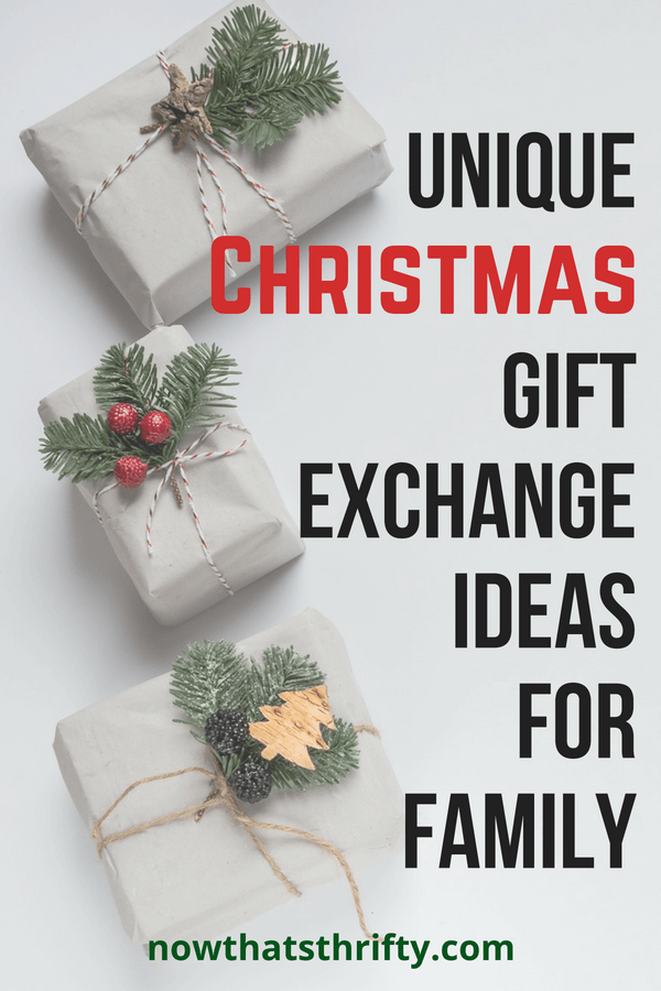 Great gift exchange ideas christmas