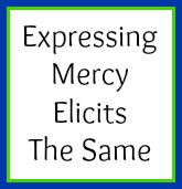 Expressing mercy elicits the same