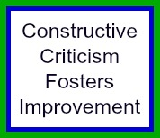Criticism Makes Us Better People