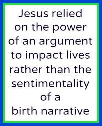 The Nativity Is Art Not An Argument