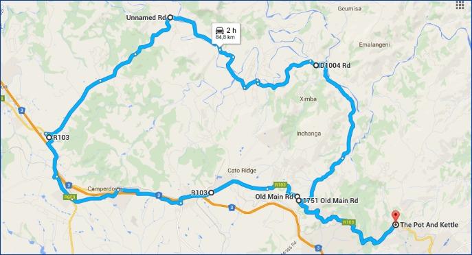 ECCC Inchange-Drummond long ride for 26 June 2016