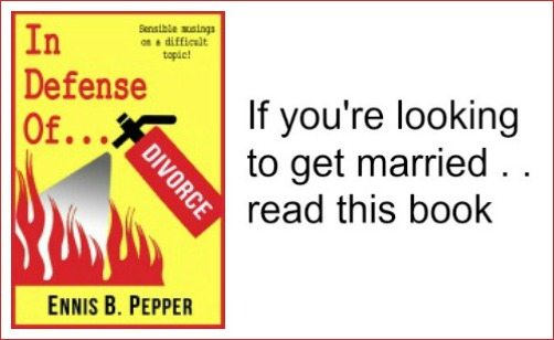 If you're looking to get married. . . . read this book.